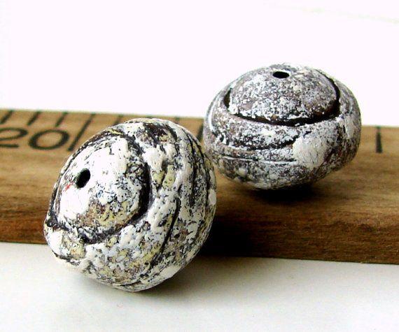 Handmade Polymer Clay Round Beads Weird Pods By Beadsbyearthtones 5 00 Handmade Polymer Clay Clay Polymer Clay Jewelry