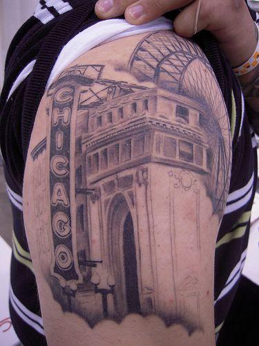 Chicago Sleeve Chicago Skyline Tattoo Skyline Tattoo Chicago Tattoo