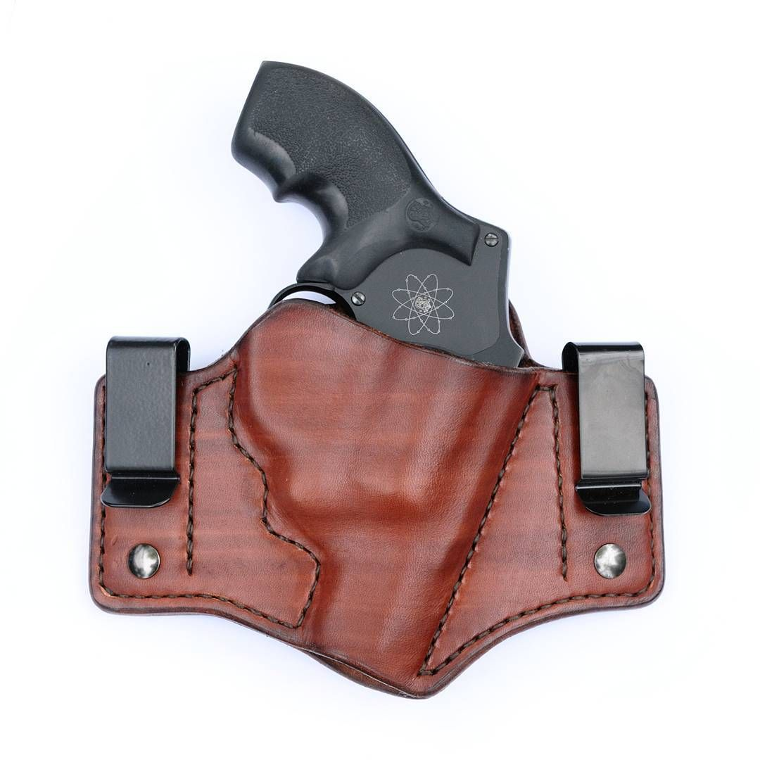 Leather Inside waistband concealed carry holster for Smith & Wesson ...