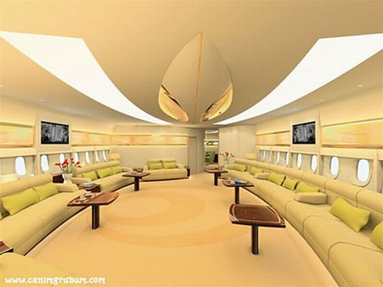 Most luxurious aircraft cabins and interiors - check them all out