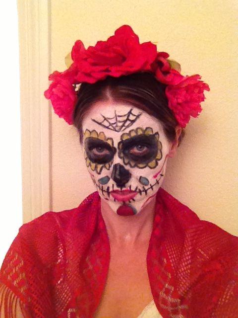 Frida meets dia de Los muertos