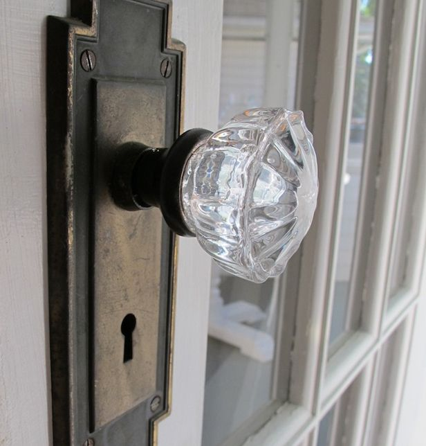We have old style doorknobs that loosen with repeated use...as a ...
