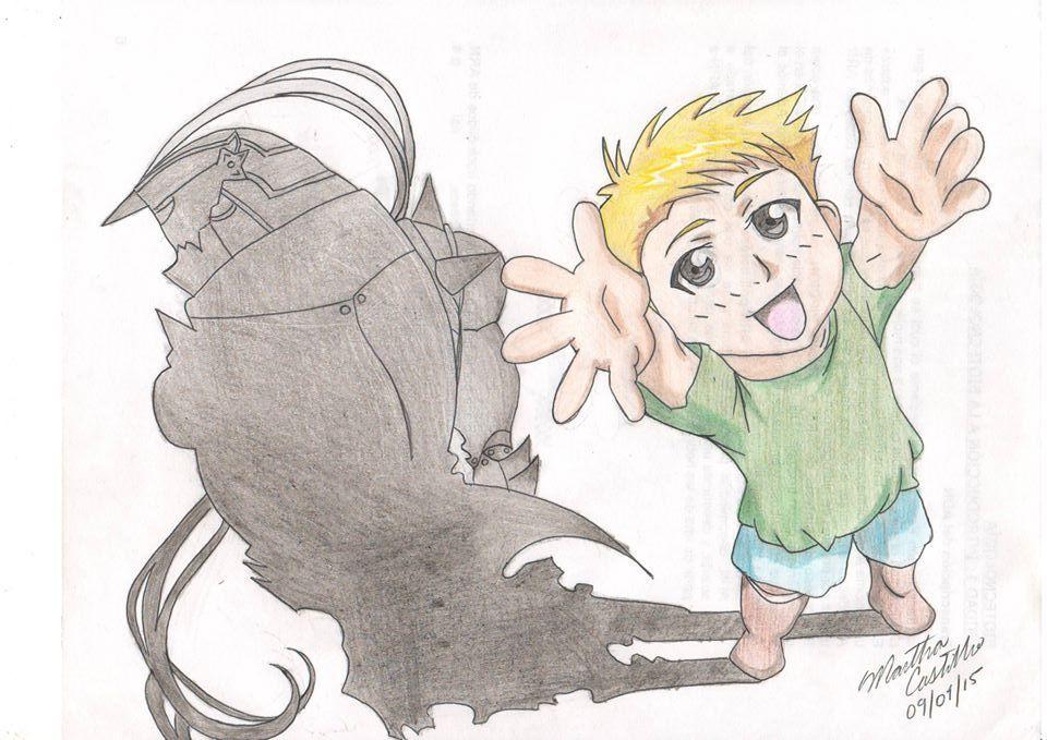 Alphonse Elric - Fullmetal Alchemist