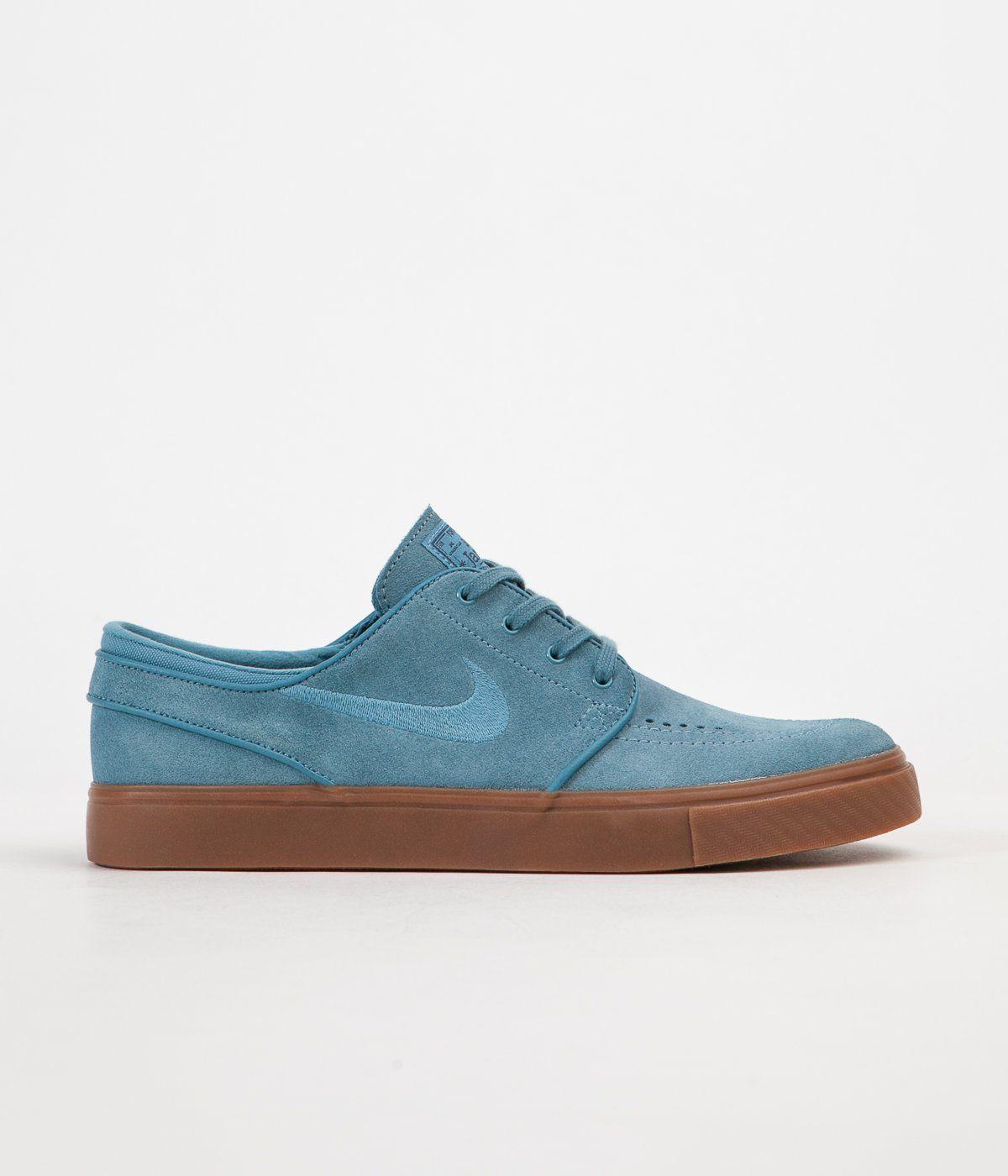 6e5cdbb441c4 Nike SB Stefan Janoski Shoes - Noise Aqua   Noise Aqua - Thunder Blue