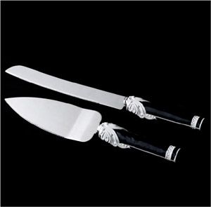 What Do You Think Black And White Wedding Cake Wedding Cake Serving Set Wedding Cake Knife And Server Set