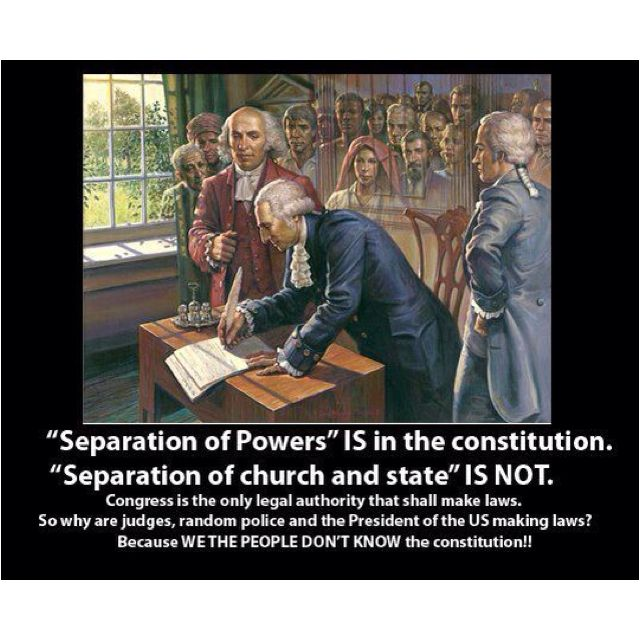 Know the constitution...