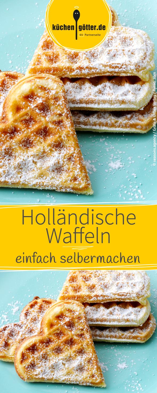 Holländische Waffeln   Recipe   Waffles, Food and Recipes