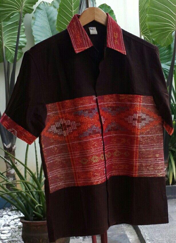 Tenun Ulos Linen Kemeja Kain Tenun In 2018 Pinterest Batik