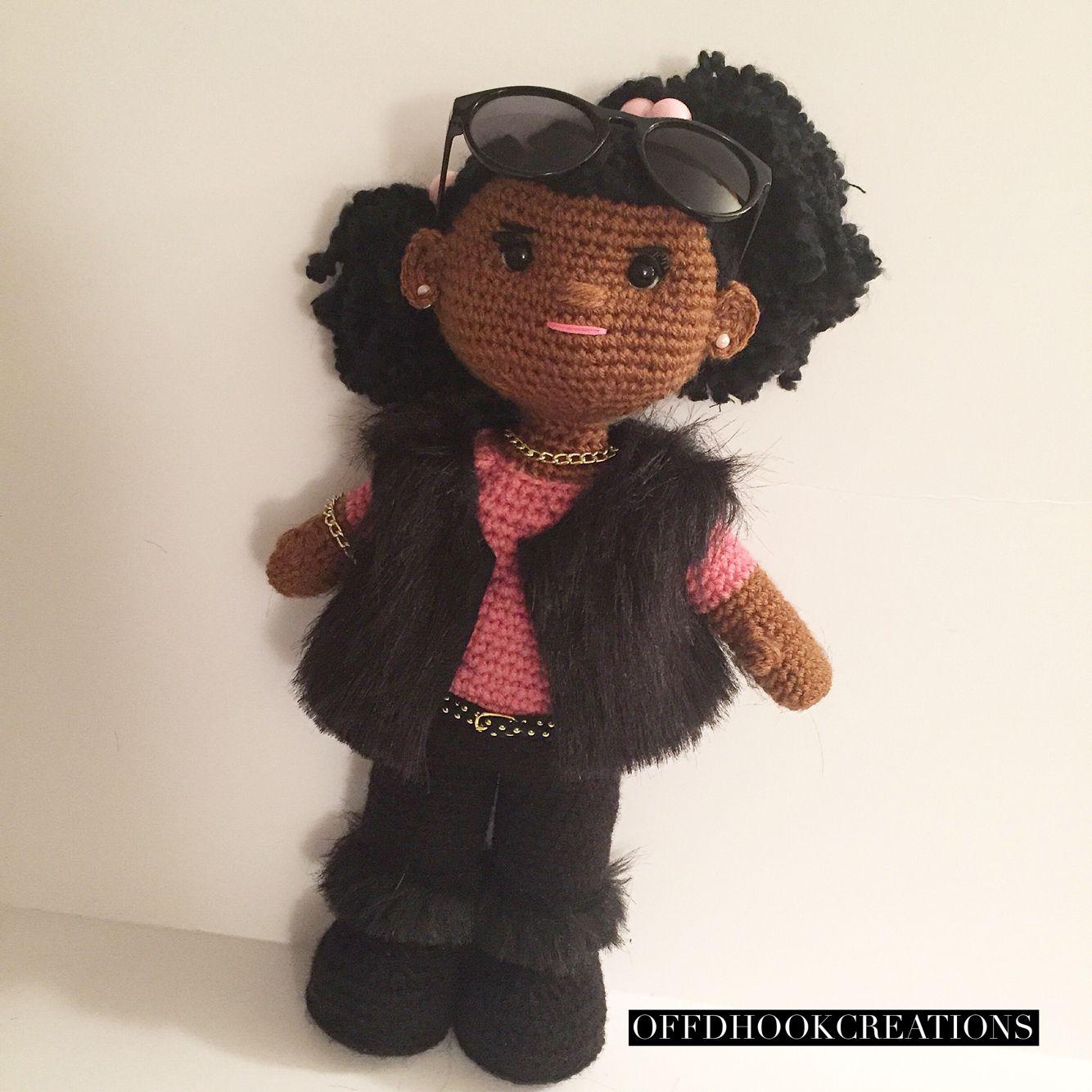 African American Crochet doll fashionista   My crochet ...