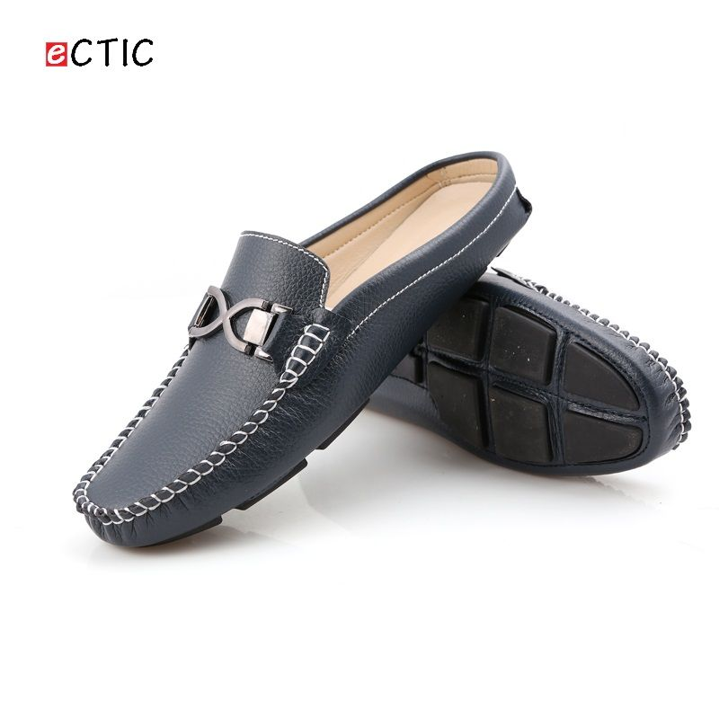13d14cd761bde Aliexpress.com : Buy Urban Men Driving Shoes Luxury Brand Shoes Summer Men  Shoes Backless Horsebit Loafers Open Backs Shoes Without Back from Reliable  ...