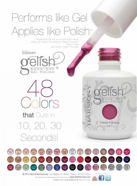 Your One Stop Beauty Shop Gelish Colours Collection Gelish Colours Uv Nails Long Lasting Nail Polish