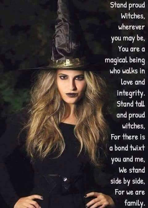 Proud witch -Pinned by The Mystic's Emporium on Etsy