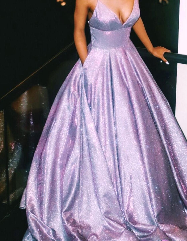 Uhdextry Trendy Prom Dresses Lilac Prom Dresses Purple Prom Dress [ 1440 x 1115 Pixel ]