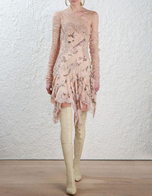 c3699dfe4cf Zimmermann Maples Temperance Mini Dress. Model Image.