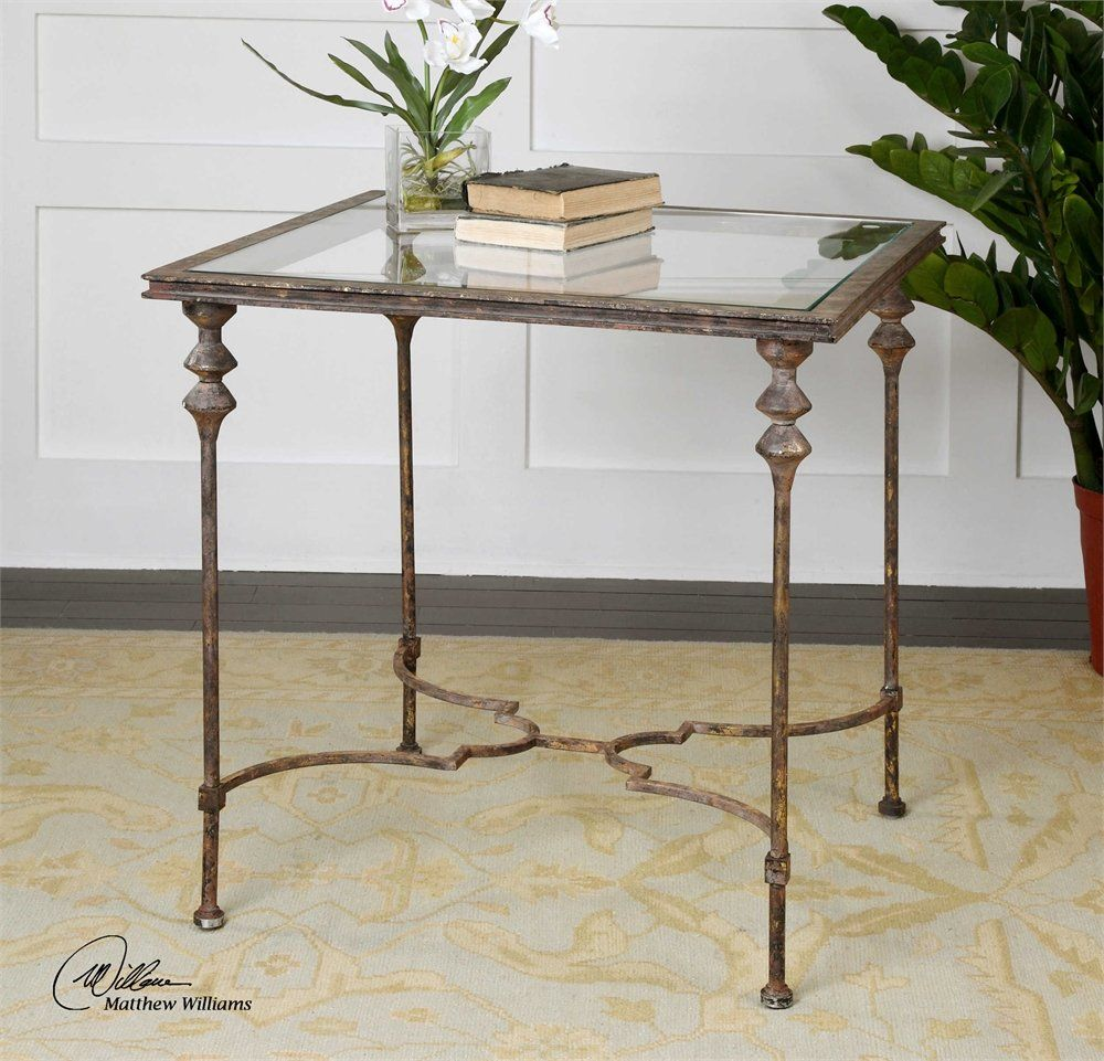 quillon glass end table click image for more details this is an rh pinterest com