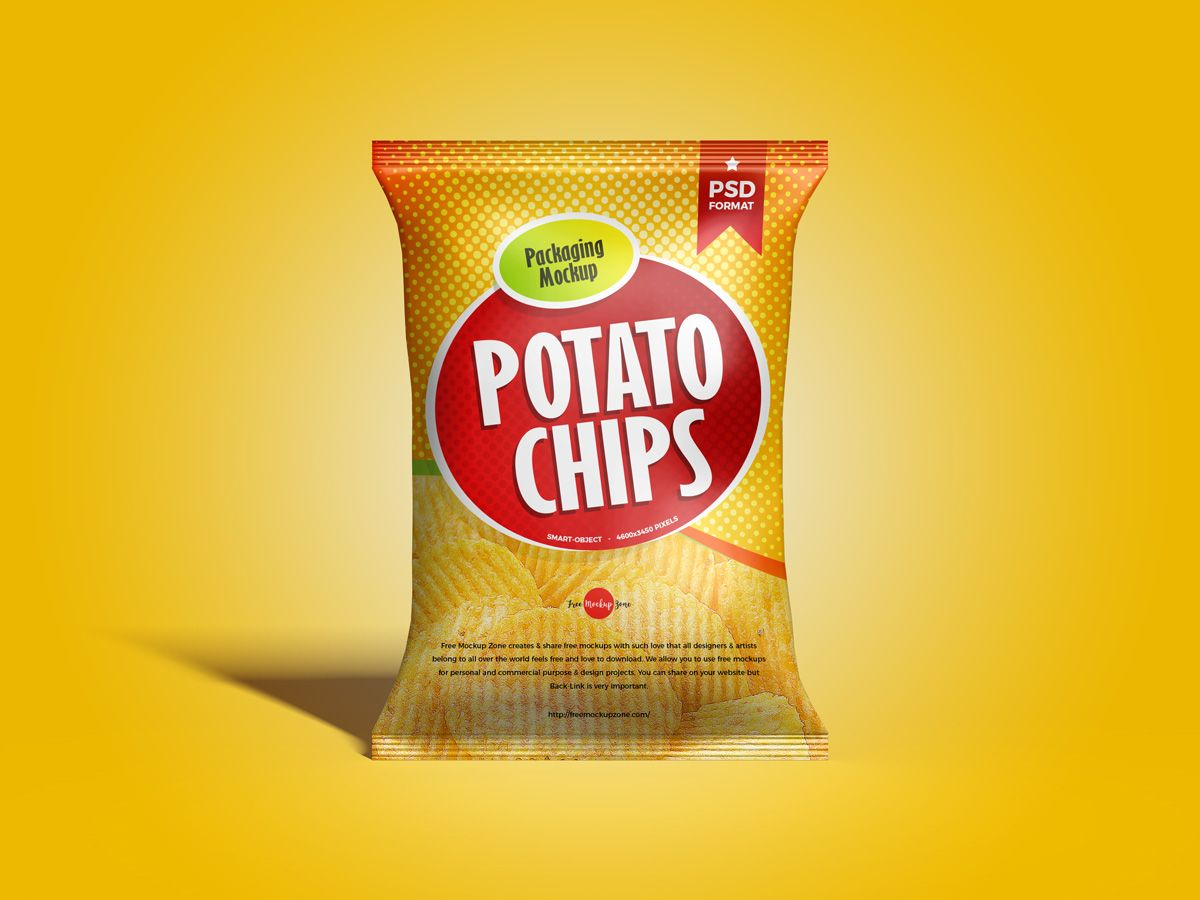 Download Free Brand Chips Packaging Mockup Design Mockup Planet Chip Packaging Packaging Mockup Chips