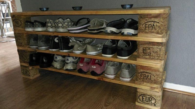 Ordnung in den Flur bringen – Schuhregal selber bauen