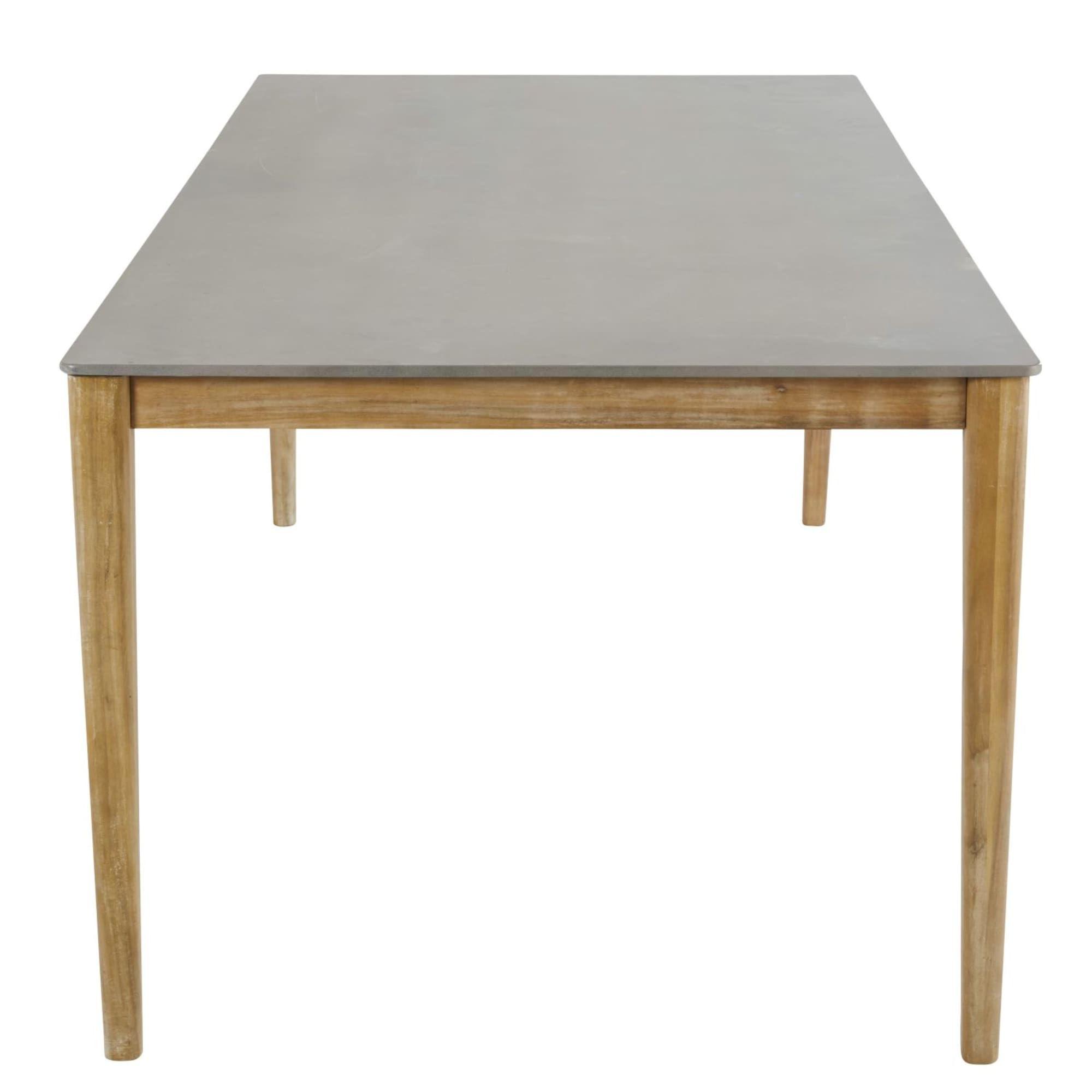 Gartentisch Aus Zement Fur 8 10 Personen L220 Gartentisch Tisch