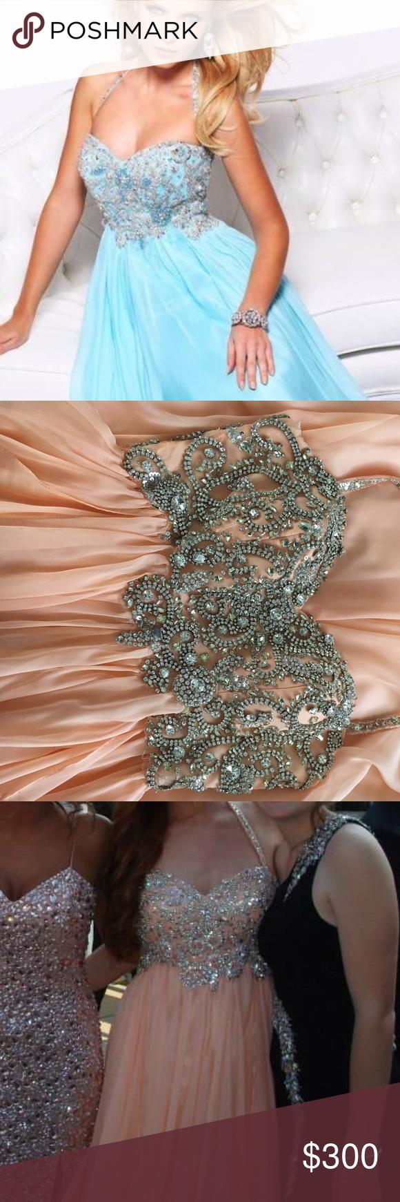 Sherri Hill Peach Prom Dress Peach Prom Dresses Prom Dresses Dresses [ 1740 x 580 Pixel ]