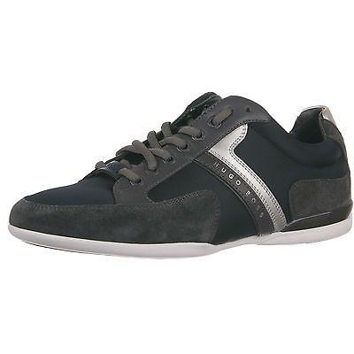 Hugo Boss Spacit Mens 50247632 401 Dark Blue Casual Shoes Stylish Sneakers Sz 8 Ninos Tenis