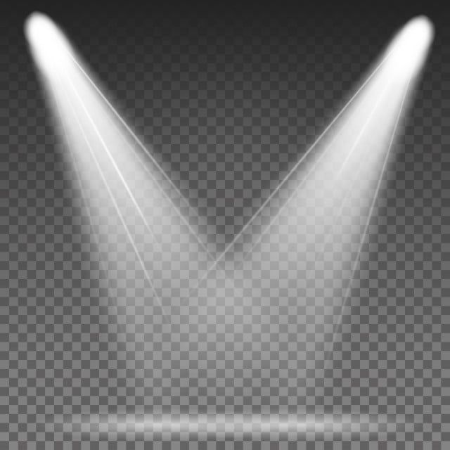 White Beam Lights Spotlights Vector Different And Projections Gleaming In Darkness Spotlight Light Beam Png And Vector With Transparent Background For Free D Ilustracao Com Caveiras Panos De Fundo Design De