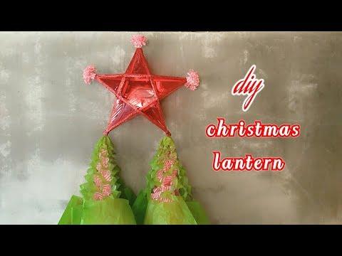 DIY 1 Christmas lantern how to make parol or star