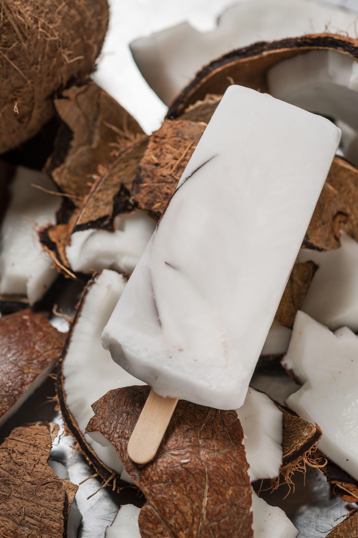 Fresh Coconut paleta #lanewyorkina