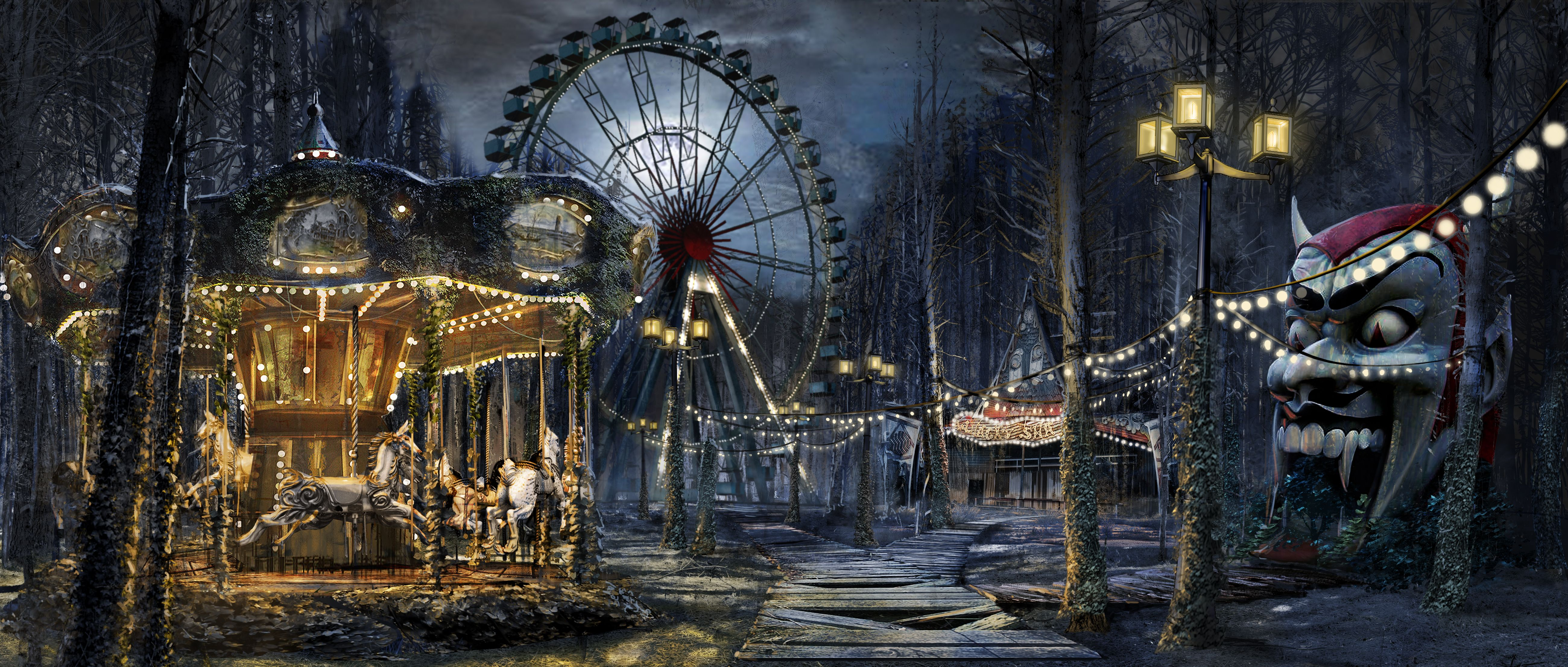 Image result for abandoned carnival tattoo | Tattoo ...