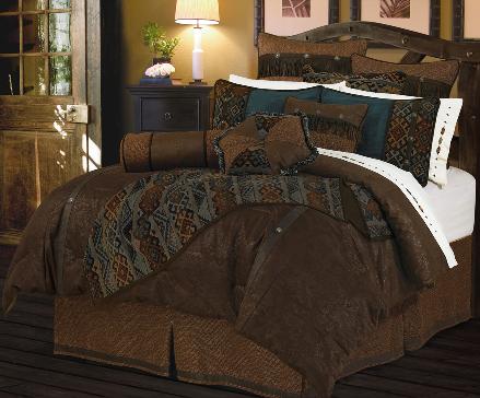 Cheyenne duvet cover | WESTERN COWBOY BEDDING > Western Cowboy Bedding Comforter Sets