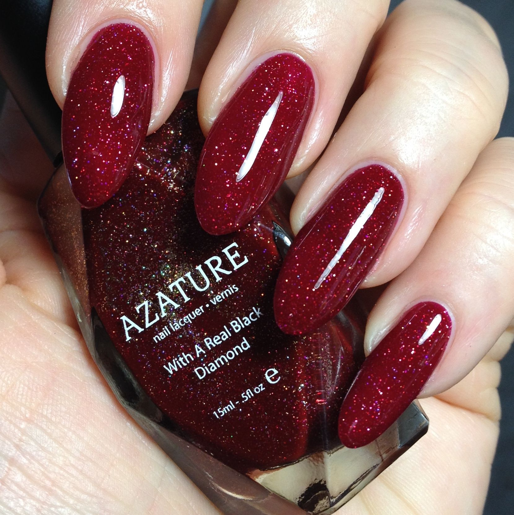 Azature Black Diamond Nail Polish In Red The Entire 40 Colour Range Available Uk Exclusively From Houseofrokoko