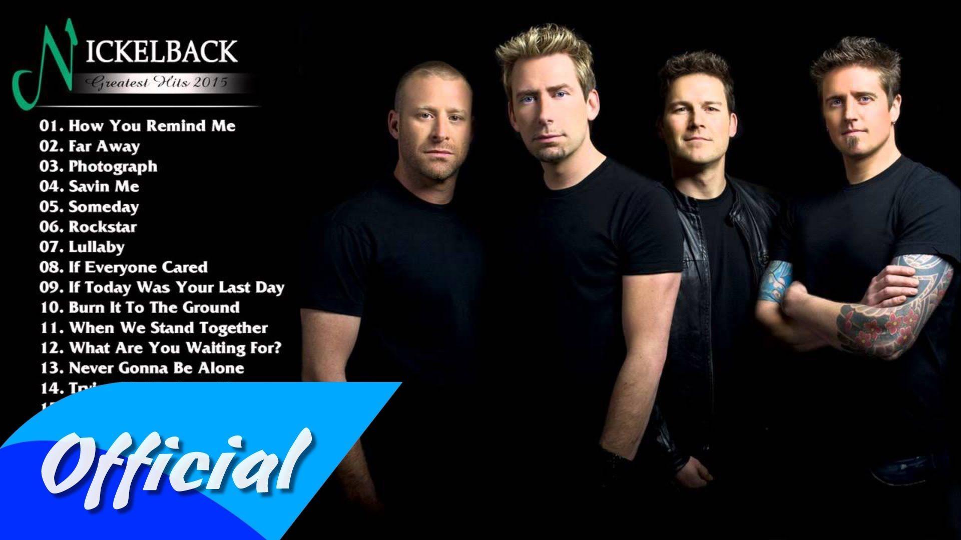 Best of Nickelback HD/HQ Mp3 - Nickleback greatest hits