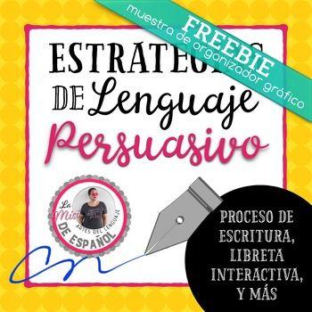 O.R.E.O. Persuasive organizer Spanish | Organizador en español para ...