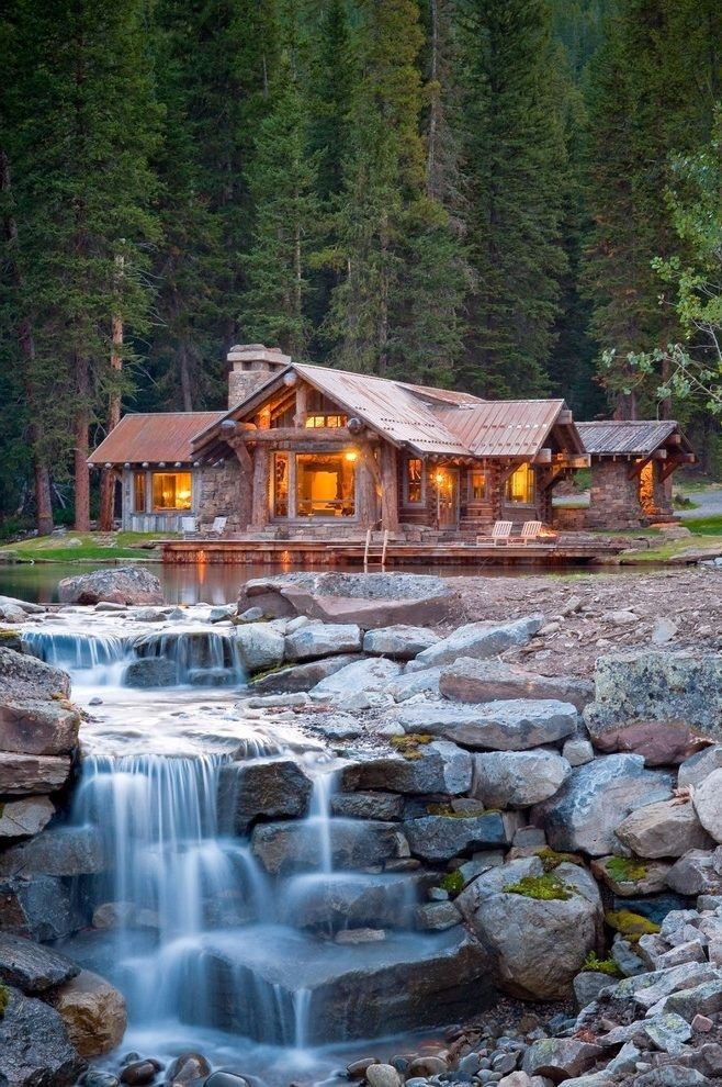 50+ Awesome Rustic Cabin Camp