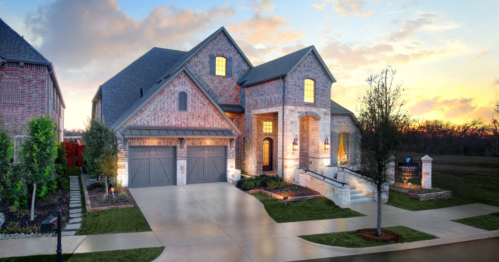 Lakeside Dfw Model Home In Flower Mound Texas New Home