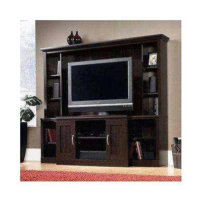 Large Entertainment Center Tv Stand Media Cabinet Home Theater Furniture  Storage. Large Entertainment Center Tv Stand Media Cabinet Home Theater