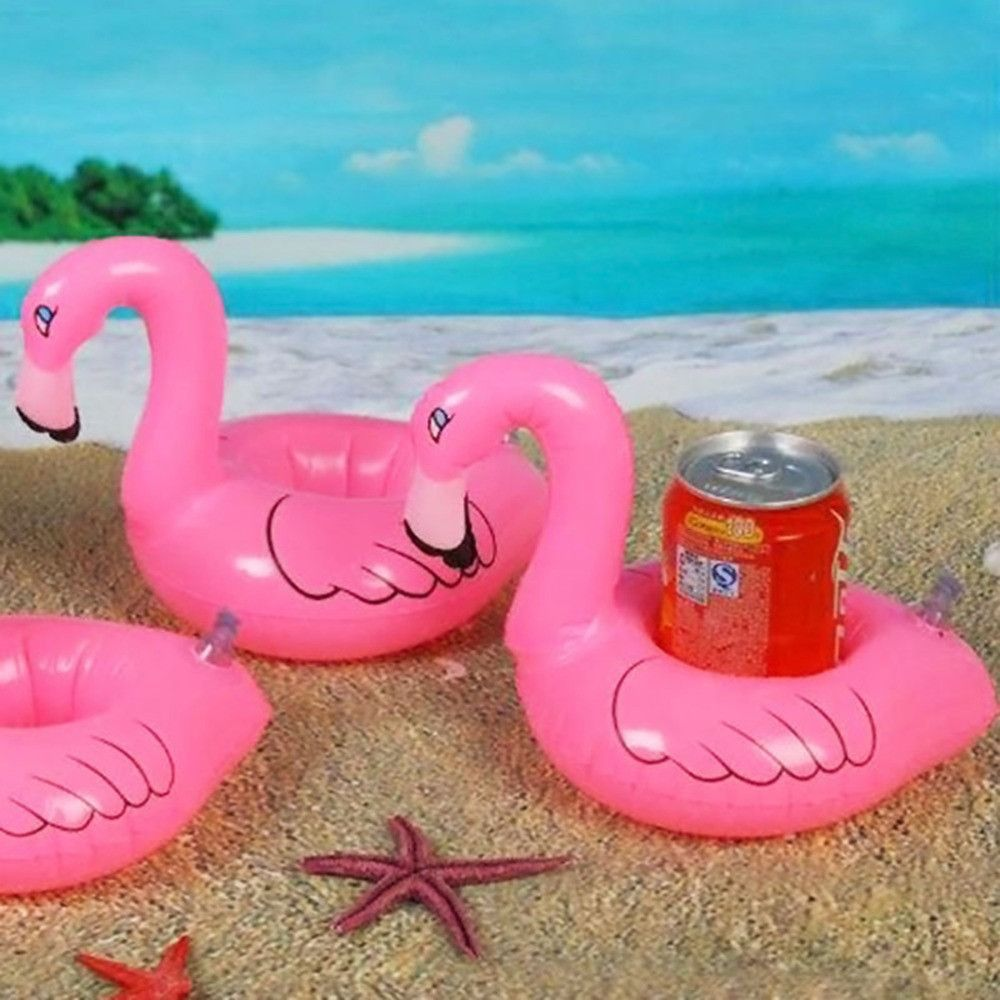 Flamingo Floating Inflatable Cup Golder