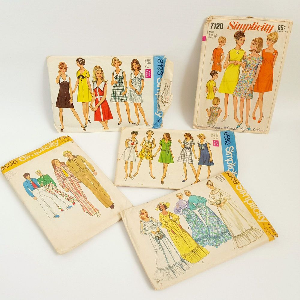 Vintage Sewing Pattern Wall Art | Vintage sewing patterns, Sewing ...