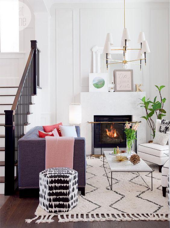 30x een kleine woonkamer + must haves | Lisa | Pinterest - Kleine ...