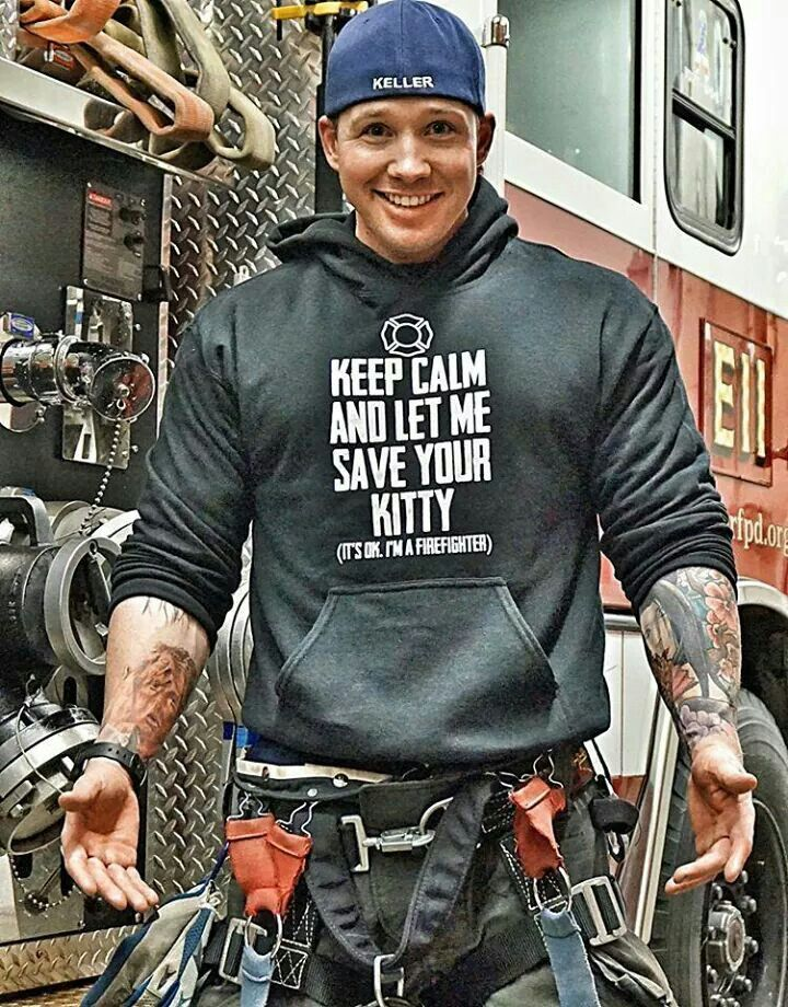 aeebc7c5c49d541ae4efeac221ffb6ee charlie d keller, firefighter firedepartment handsome smile