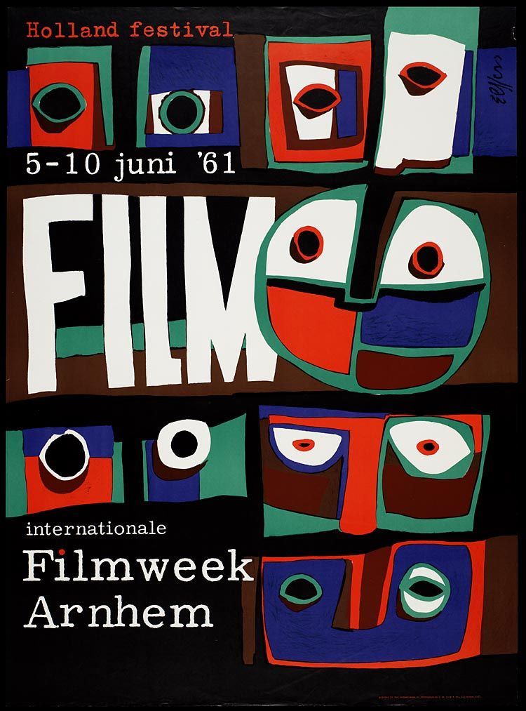 Dick Elffers, Filmweek Arnhem, 1961