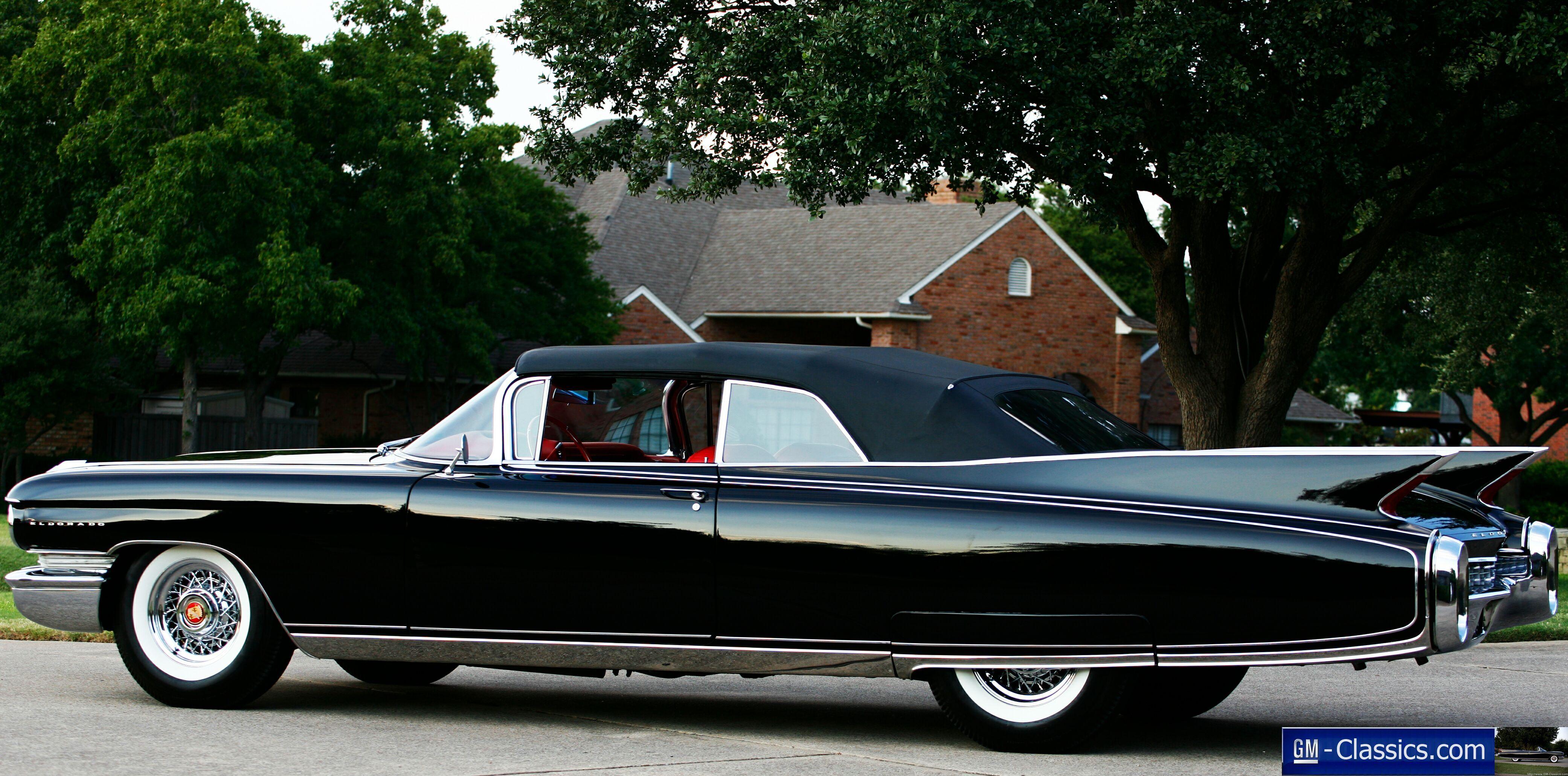 1960 Cadillac Eldorado Convertible | For Book | Pinterest | Cadillac
