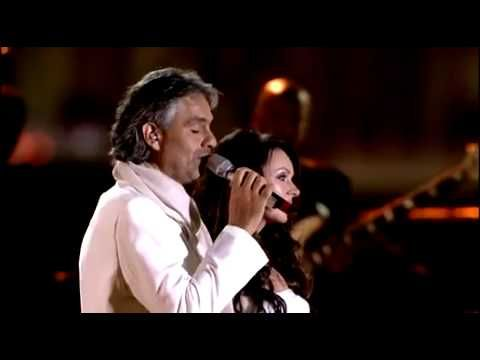 Andrea Bocelli - Feat. Sarah Brightman -Time To Say ...