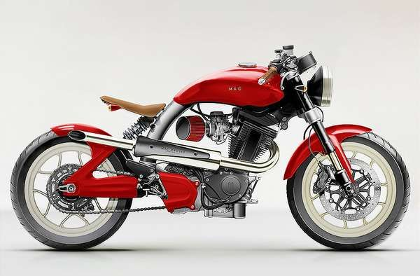 Retro-Modern Motorcycles