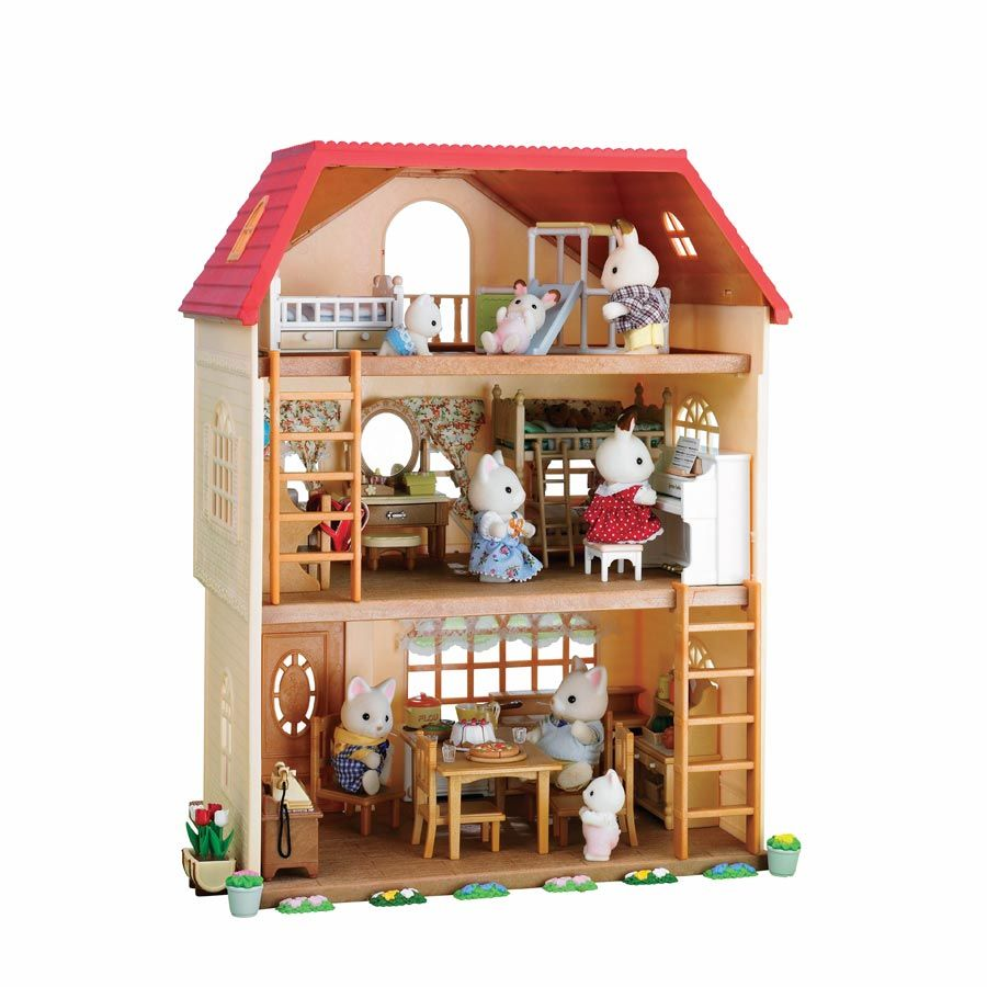 Sylvanian Families Bedroom Furniture Set Sylvanian Families Cedar Terrace Toys R Us Australia April