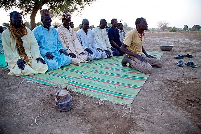 FACING EAST Muslims Do Not Always Pray In The Mosque, And