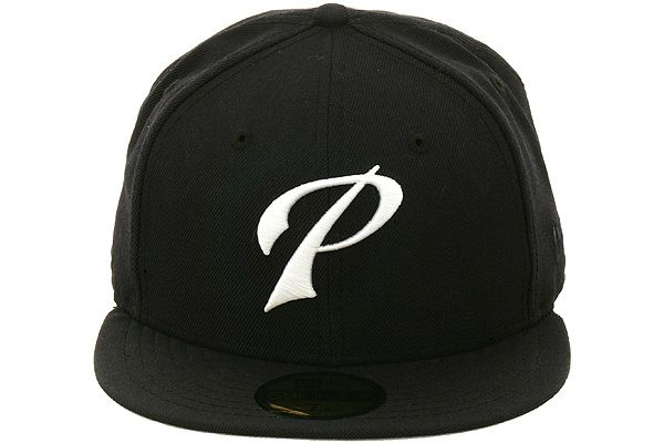 San Diego Padres P Fitted Hat by New Era - Navy Blue, White | Hat
