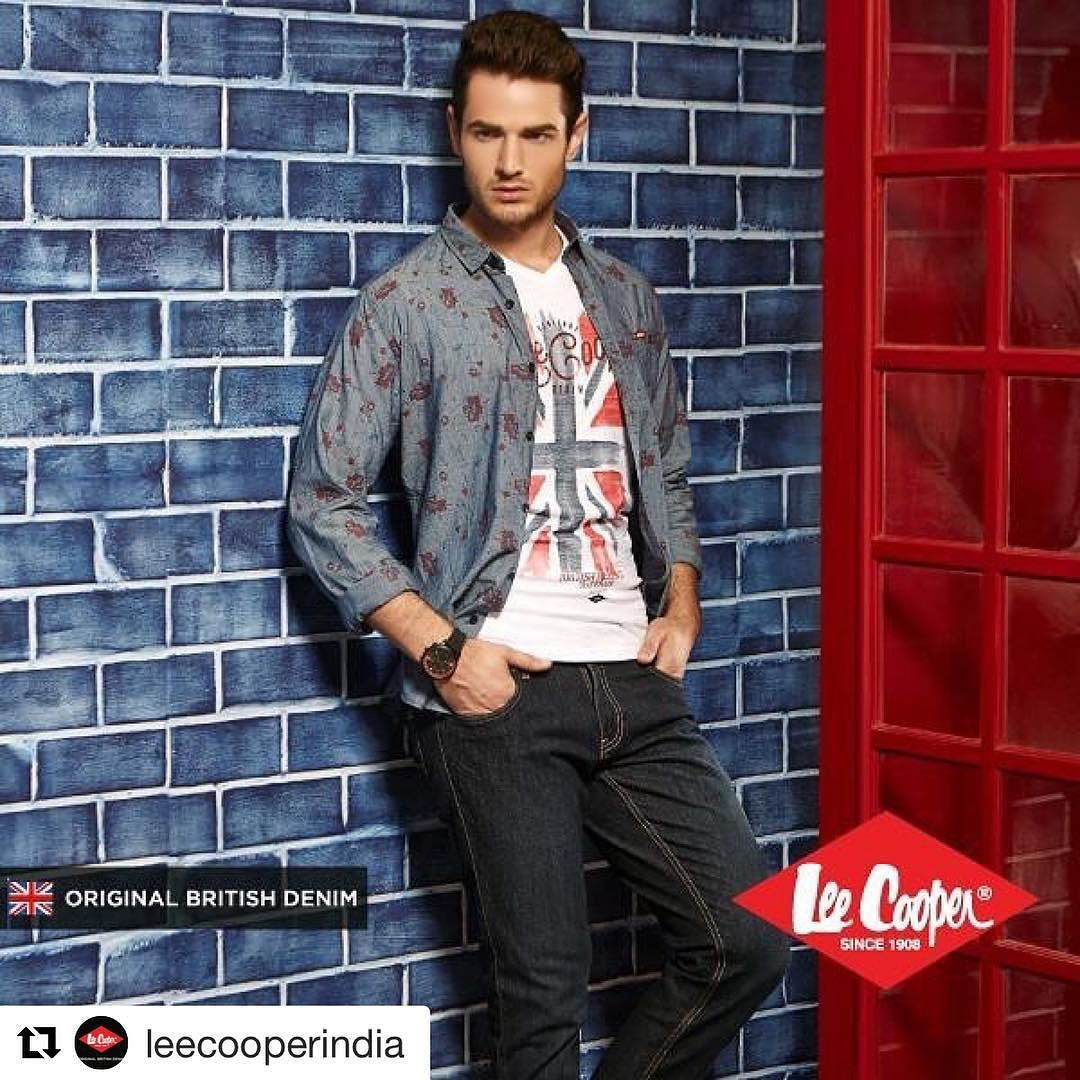 Alexander for Lee cooper #Repost @leecooperindia with @repostapp  Be a voice not an echo. Be Original with #LeeCooper. Are you ready for a fun weekend? Pair a stylish denim with a rugged t-shirt and layer it with a funky shirt.  #OriginalBritishDenim #Since1908 #denim #fashion #style #shirt #tshirt #brit #british