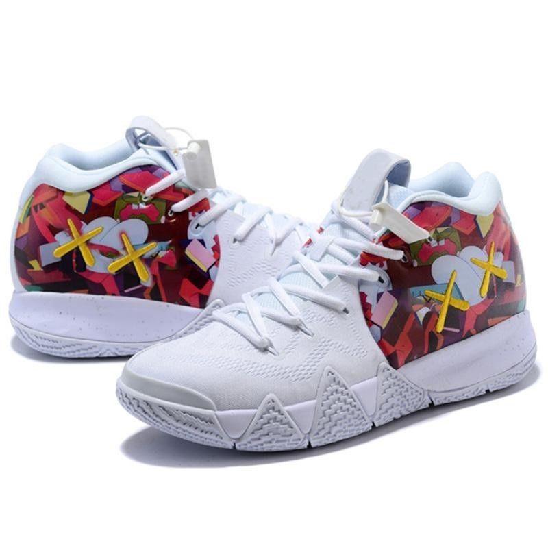 f41cbb79863e Nike Kyrie Flytrap EP Irving White Blue Red Men Basketball Shoes AJ1935-146  Men