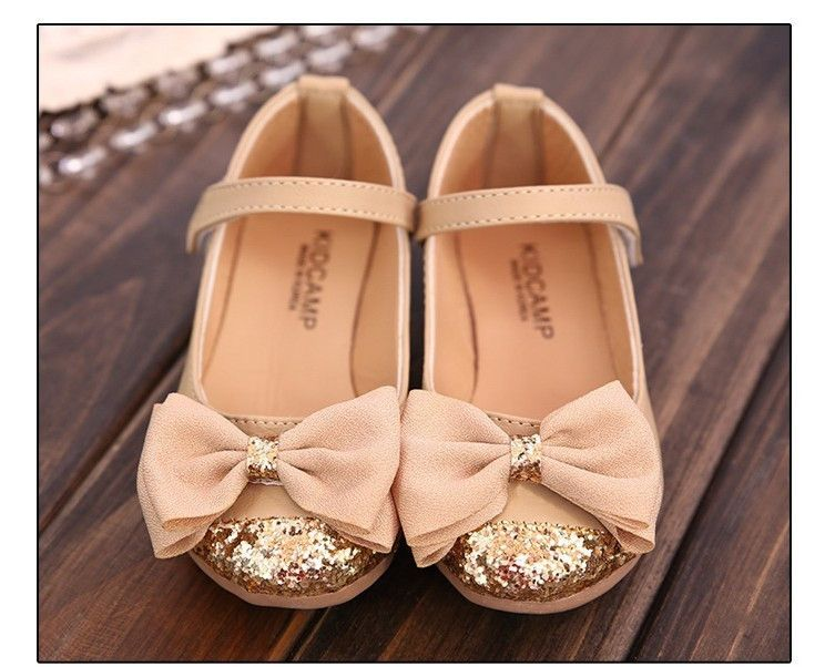 little girl cream dress shoes