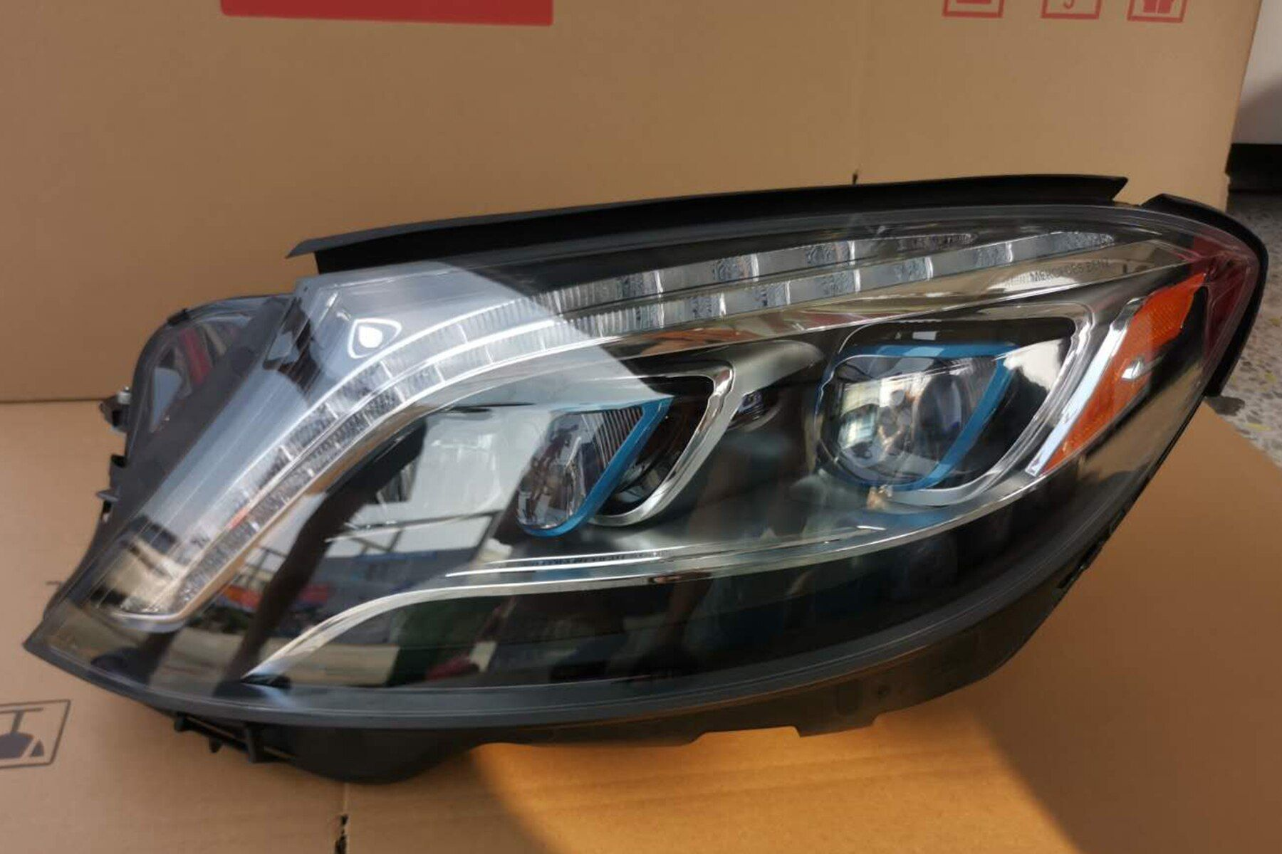 For Mercedes Benz W222 2014 2017 Led Headlight Assembly Maybach New Energy Vehicles Genuine Headlamp In 2021 Car Headlights Maybach Car Headlight Bulbs